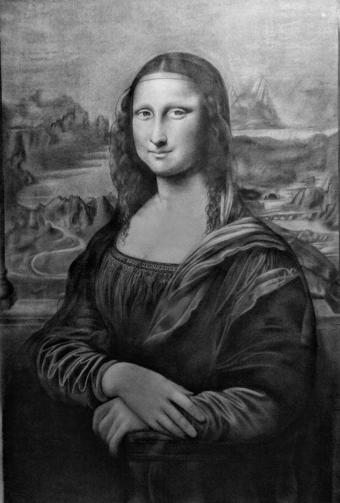 Mona Lisa by LudaVila